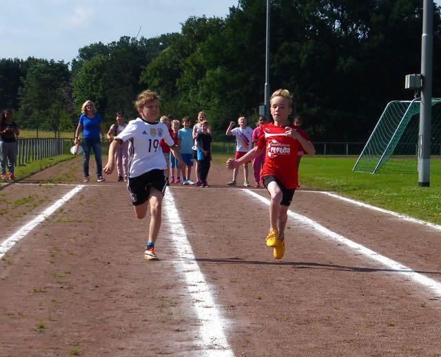 Die Sprinter Jesko und Nick